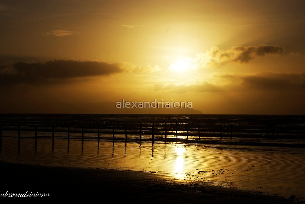 Sunset  - Porstewart Strand by alexandriaiona