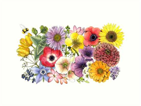 Plant These Save the Bees by Ashley Garcia