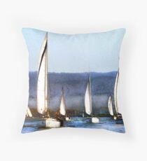 Together We Sail Throw Pillow