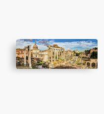 The Roman Forum 2 Canvas Print