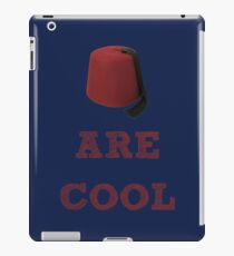 Doctor Who - Fezzes are cool #2 iPad Case/Skin