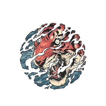 Tora - Japanese tiger tattoo art by BlackoutStore