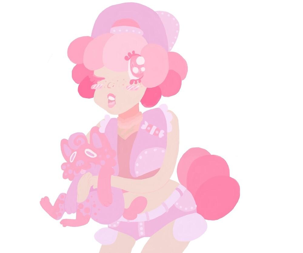 Bubblegum Boy by KewlKatCutie