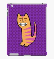 Be happy. Be the cat. iPad Case/Skin