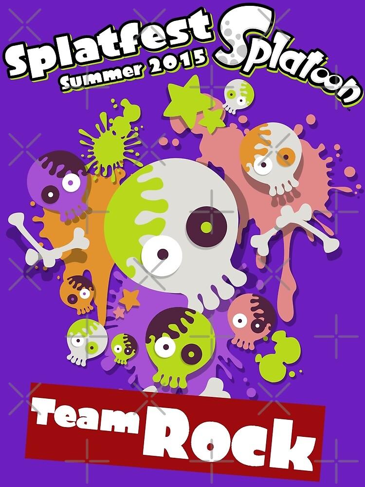 Splatfest Team Rock v.2 by KumoriDragon