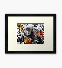 Babe Rides out Framed Print