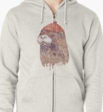 Otter Hoodie mit Reißverschluss