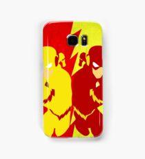 Reverse Flash VS Flash Minimalist Samsung Galaxy Case/Skin