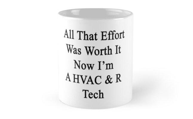 All That Effort Was Worth It Now I'm A HVAC & R Tech  by supernova23