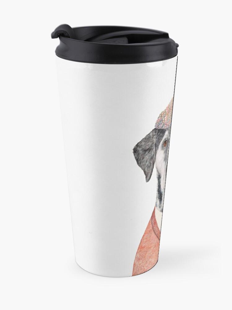Alternate view of Dalmatian Travel Mug