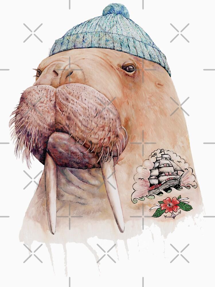 Tätowiertes Walross von AnimalCrew