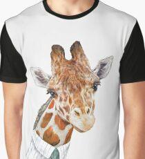 Giraffe Grafik T-Shirt