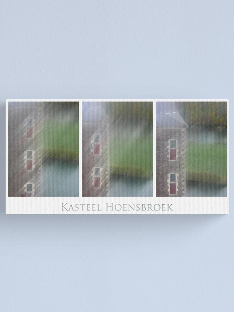Alternate view of Kasteel Hoensbroek (triptych) Canvas Print