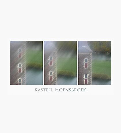 Kasteel Hoensbroek (triptych) Photographic Print