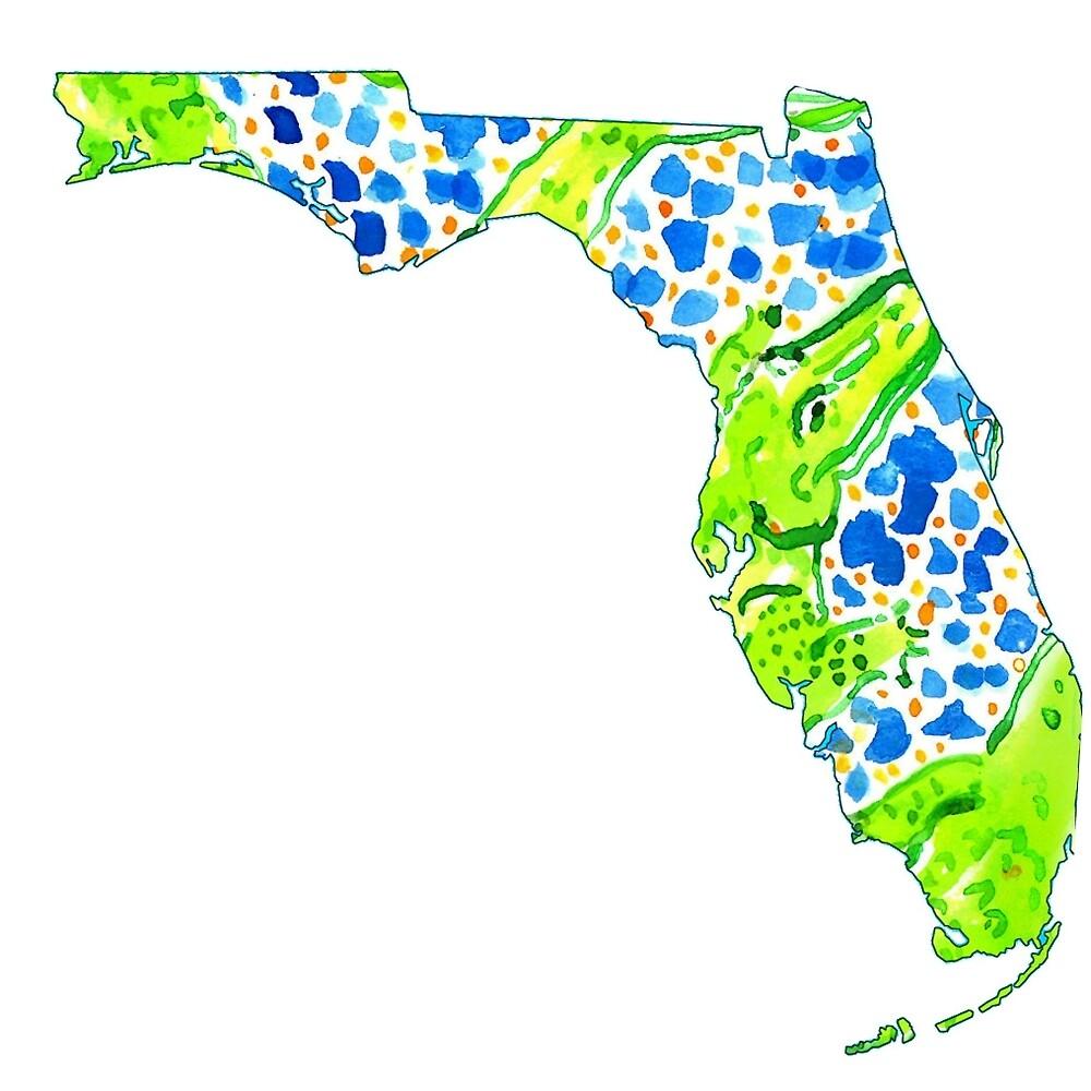 Preppy Gator Florida by kaleighmich10s