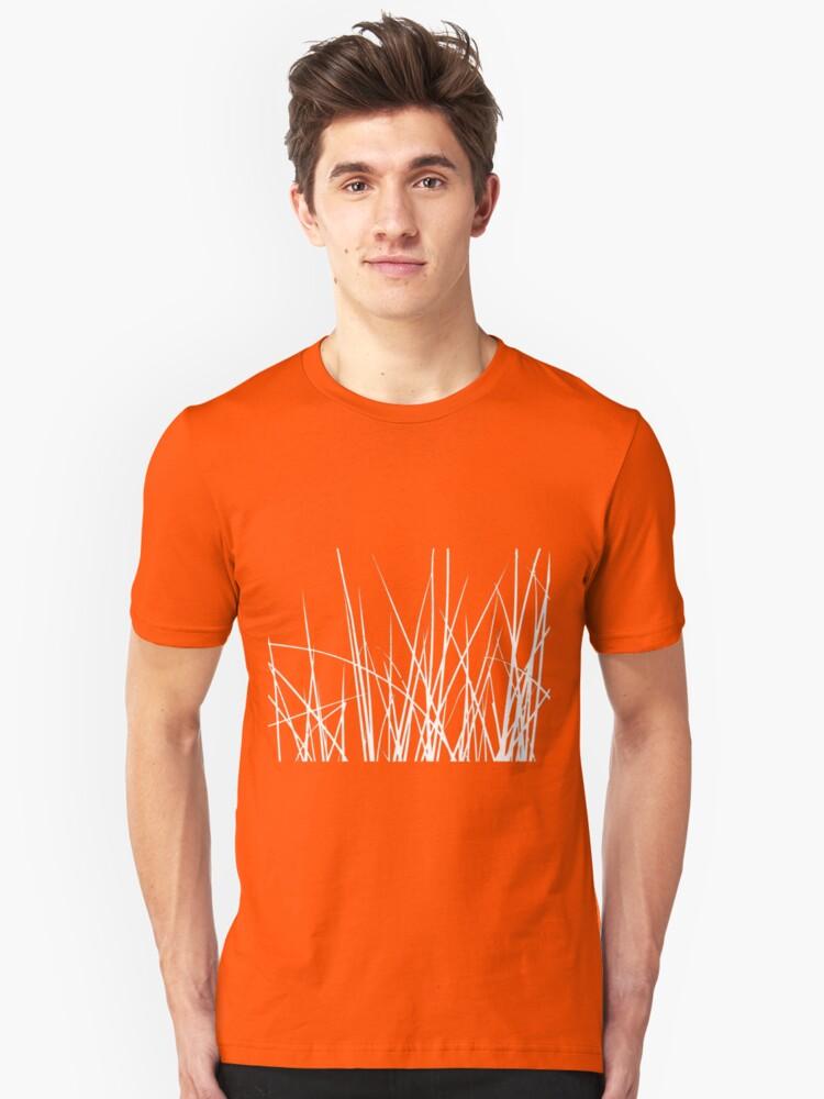 Water grass (white) (T-Shirt) Unisex T-Shirt Front