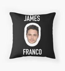 jamesssss francooooooo Throw Pillow