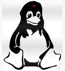 Linux tux Penguin Che  Poster