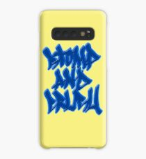 Stomp and Crush - 2015 - Blue Case/Skin for Samsung Galaxy