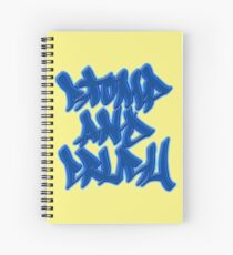 Stomp and Crush - 2015 - Blue Spiral Notebook