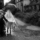 Die Braut im Regen ... by Angelika  Vogel
