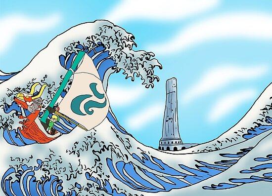 Zelda: WindWaker - Große Welle von BradBailey