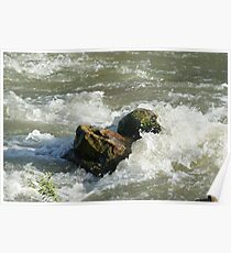 Whitewater on Palo Pinto Creek Poster