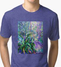 Walkway Tamborine Mountain Botanical Gardens  Tri-blend T-Shirt