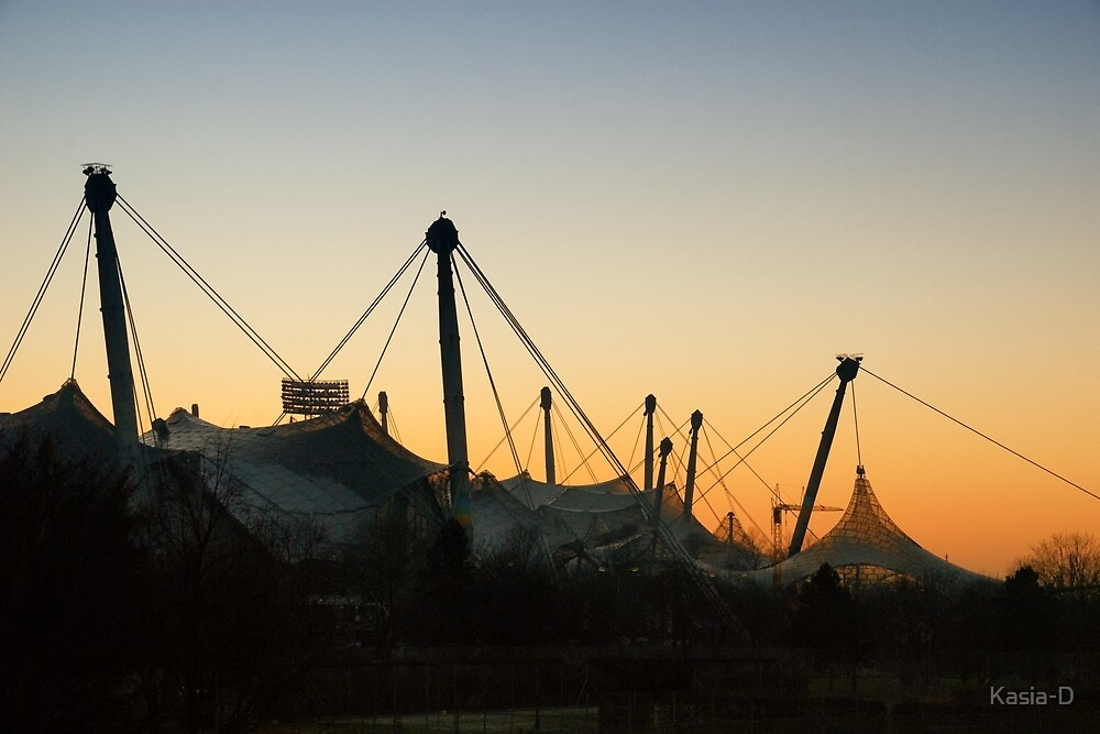 Olympic Stadium - Winter Perspective by Kasia-D