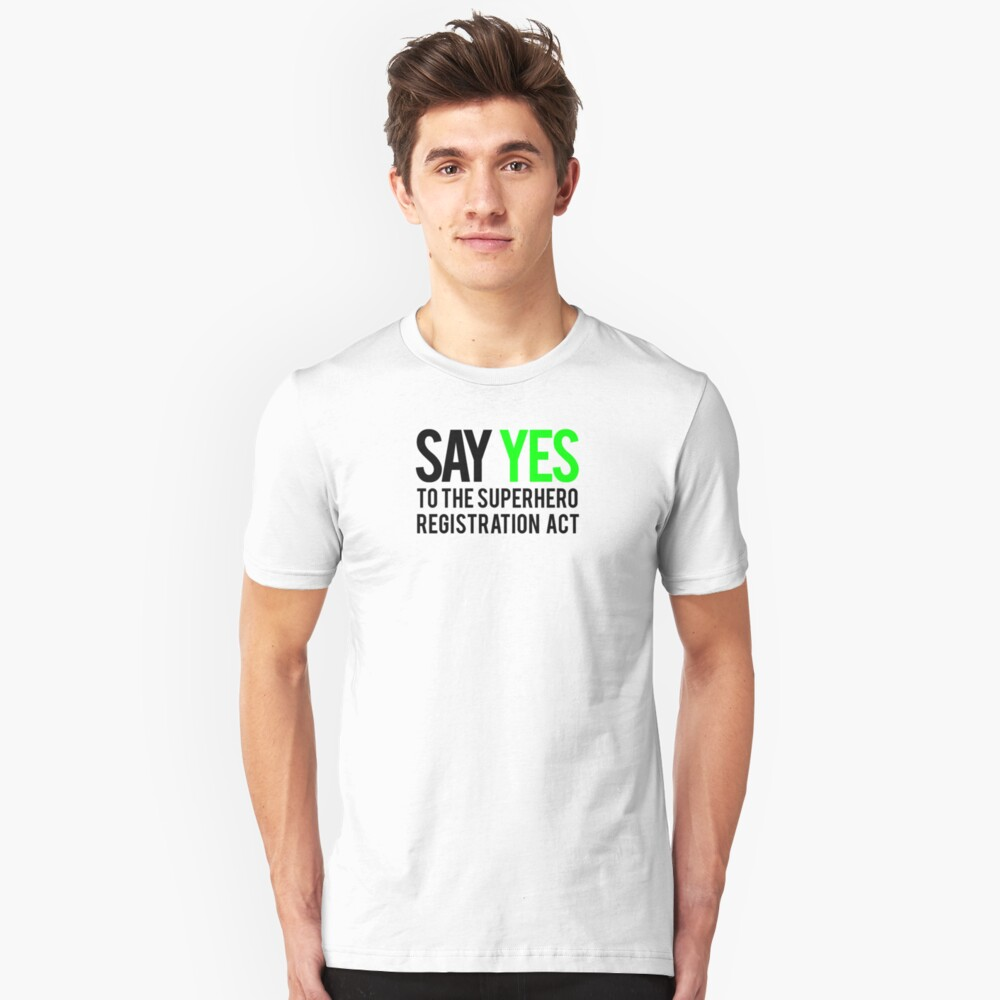 Civil Way - Say Yes - Black Clean Unisex T-Shirt Front
