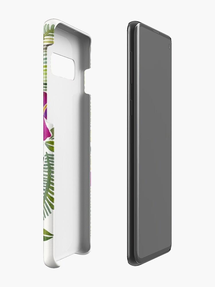 Alternative Ansicht von Killin 'es - tropisches Rosa Hüllen & Klebefolien für Samsung Galaxy