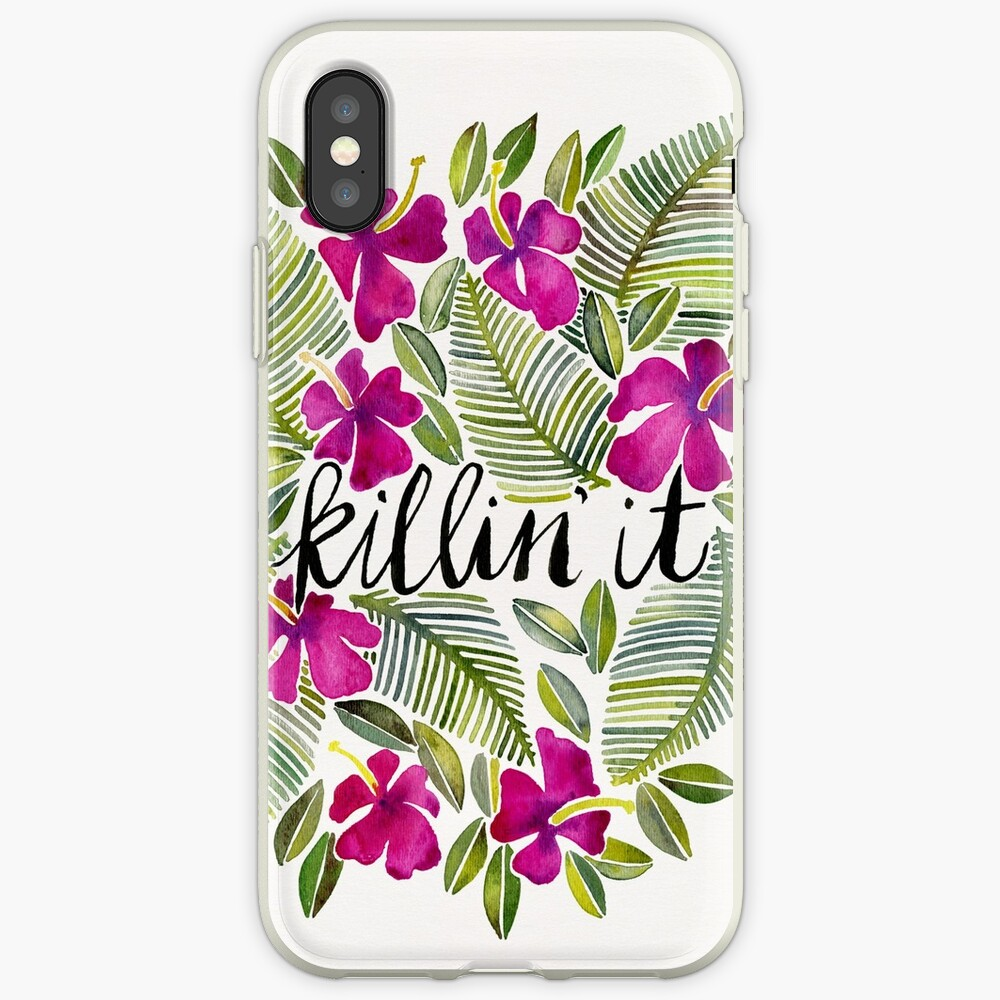 Killin' It – Tropical Pink iPhone Case & Cover