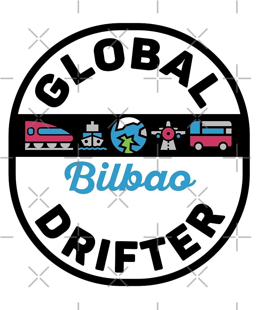 Bilbao Spain Global Drifter by designkitsch