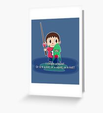 Fishing for Ink Greeting Card