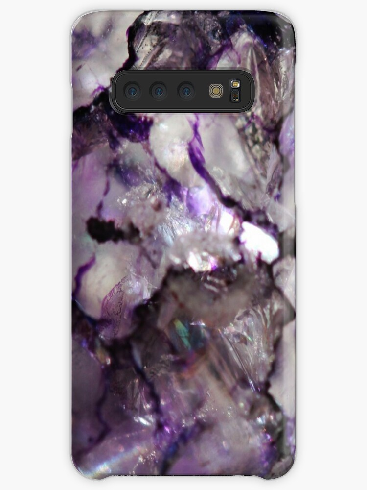 Purple crackle glass by chihuahuashower