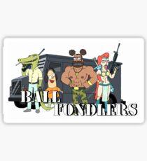 Ball Fondlers Sticker
