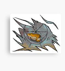 Hamster Powered Canvas Print
