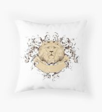 Löwe, der König der Tiere Floor Pillow