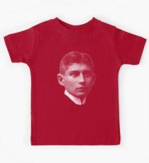 Portrait of a writer Franz Kafka   Kids T-Shirt