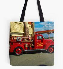 1939 Fargo Fire Truck Tote Bag