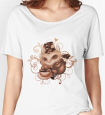 Teemo in Wonderland (red desaturate) Women's Relaxed Fit T-Shirt