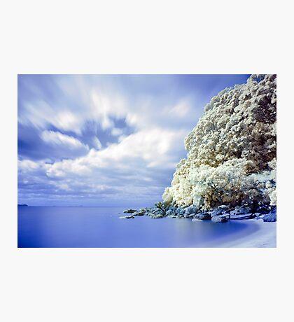 Onemana Beach infrared 2 Photographic Print