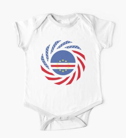 Cape Verdean American Multinational Patriot Flag Series 1.0 Kids Clothes