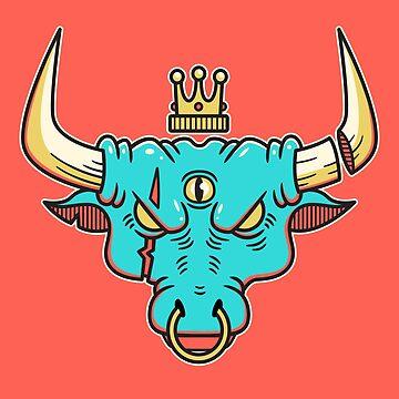 Bulls Eye by strangethingsA