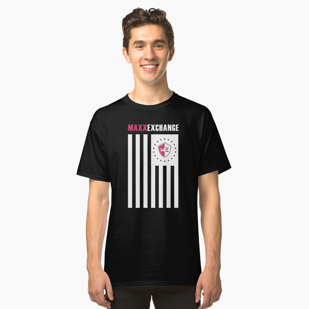 Flag of Honor, Proud American. Classic T-Shirt Front