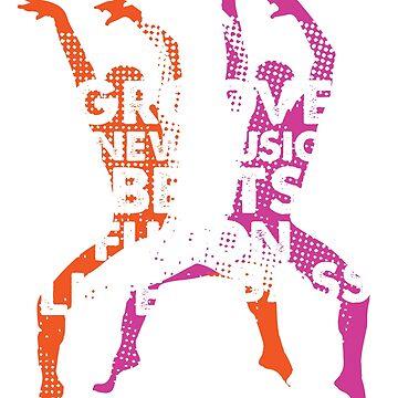 Modern Dance Dancing Dancers by jazzworldquest