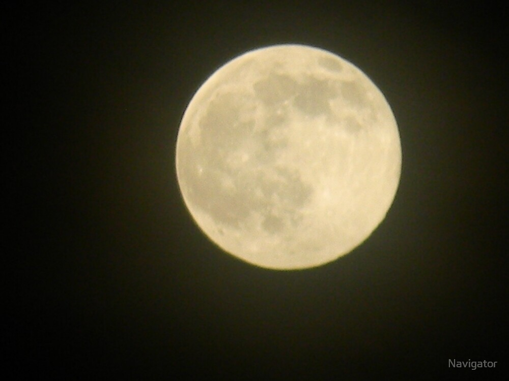 Full Moon Moonglow - view larger by Navigator