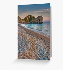 Sunset at the Door Greeting Card