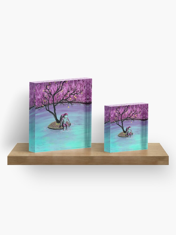 Alternate view of Dreamer Acrylic Block