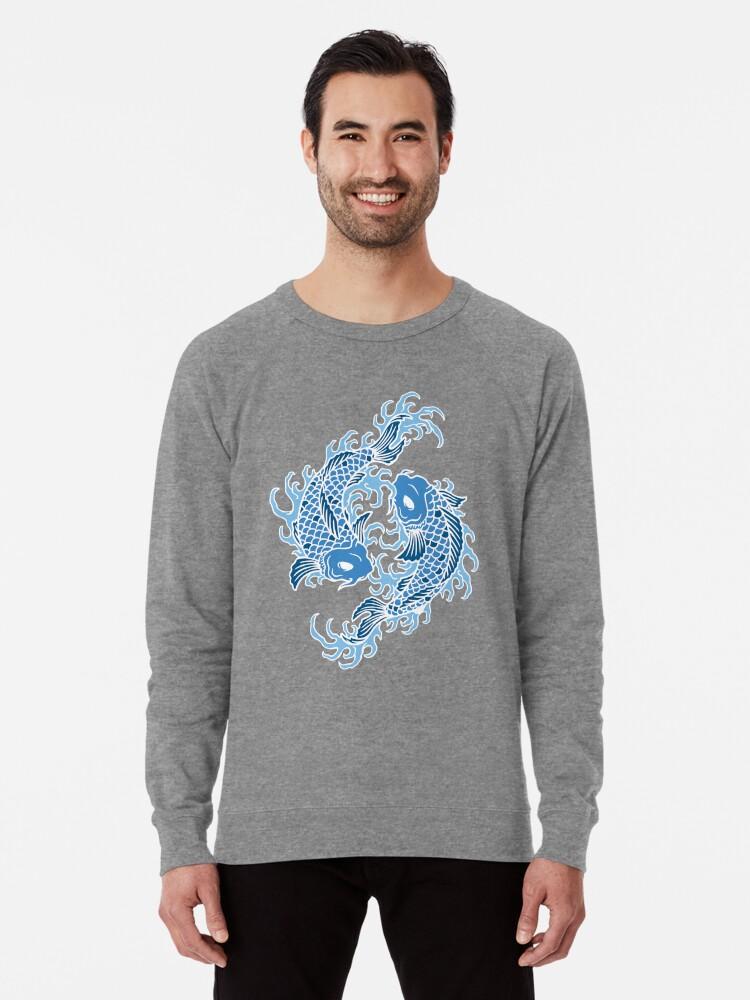 c545e5657dc9a Blue Koi Fish T Shirt